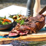 Plat viande avec légumes de saison